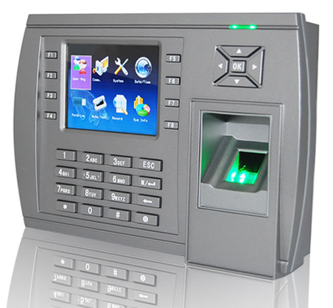 Fingerprint Access Control System 205mm Access Control