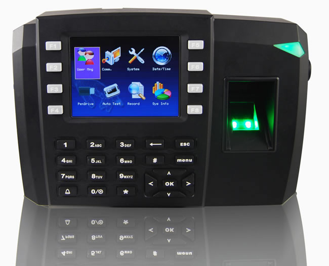Fingerprint Access Control System 197mm Access Control